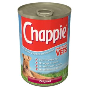Chappie original Tin