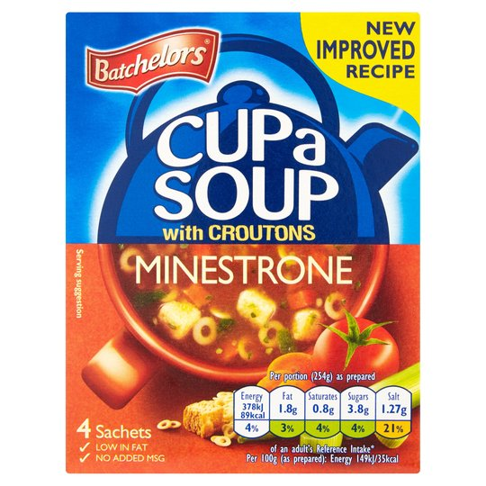 Minestrone Cup a Soup