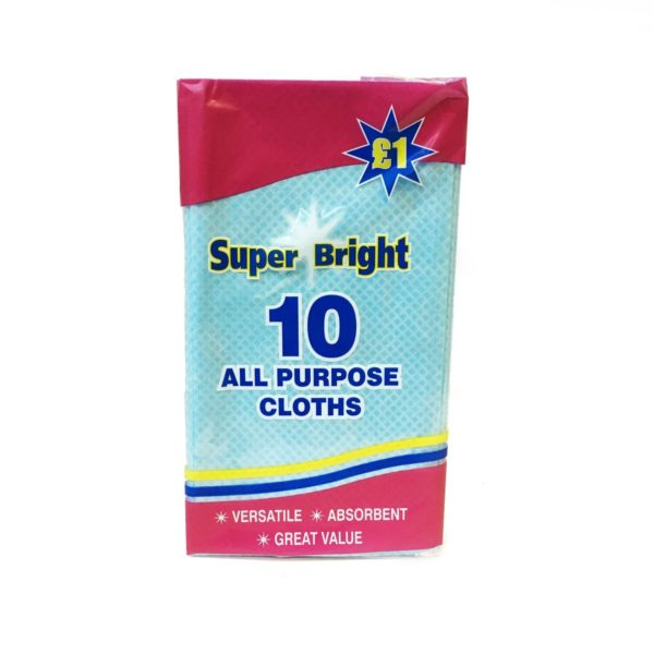 J Cloths 10 Pack