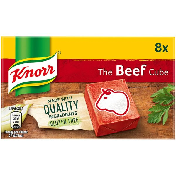 Knorr Beef Stock Cubes 8