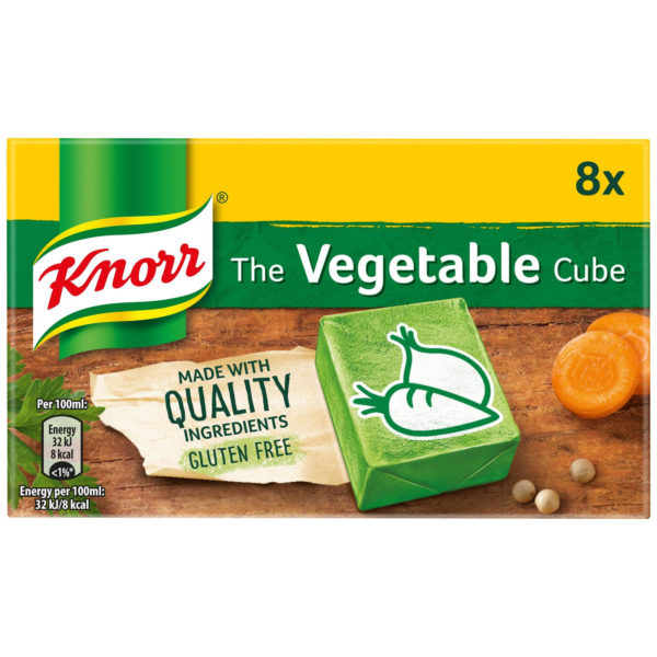 Knorr Vegetable Stock Cubes 8