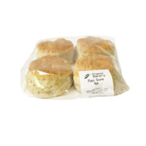 Plain Scones 4 Pack