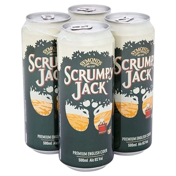 Scrumpy Jack 4 Pack (500ml)