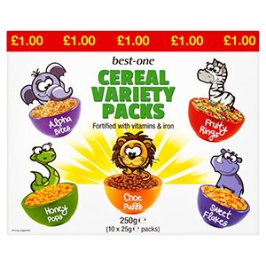 best-one cereal variety packs