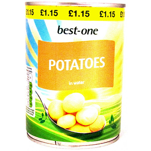 Best-One Tinned Potatoes Large