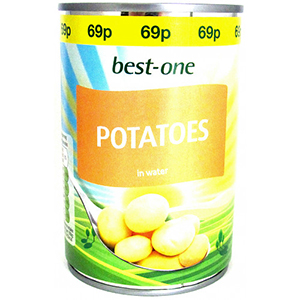 Best-One Tinned Potatoes Small