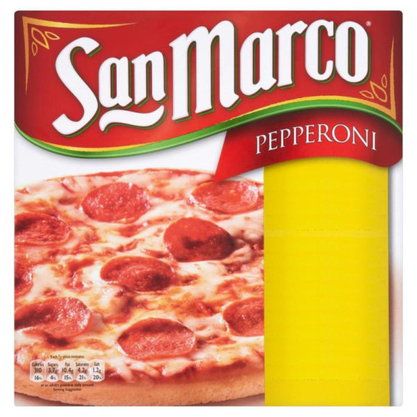 San Marco Pizza Pepperoni